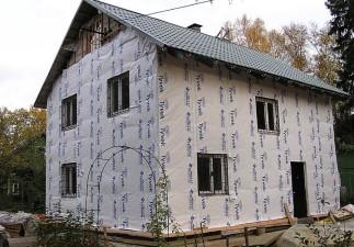 Сегодня поговорим о Гидро- и пароизоляция для фасада.